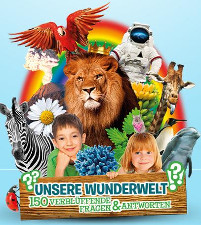 """REWE """"Unsere Wunderwelt"""" Sammelaktion. Die neuen Sammelbilder bei Rewe und Edeka Neukauf + Sammelalbum mit Lerneffekt!"""