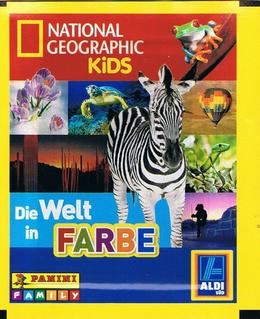 """ALDI Panini Bilder """"Die Welt in Farbe"""" mit National Geographic Sammelalbum"""