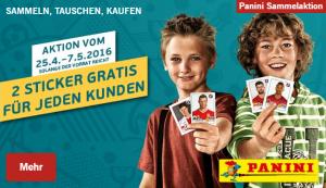 Diese Woche gratis bei LIDL: Euro 2016 Panini Sticker